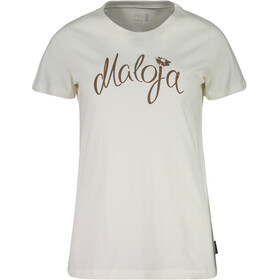 Maloja SandraM. Maglietta a maniche corte Donna bianco